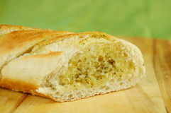 Bread with  stuffing Royalty Free Stock Photography