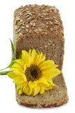Bread with Sunflower Royalty Free Stock Photos