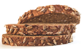 Bread with sunflower seeds Royalty Free Stock Image