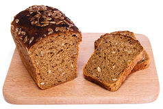 Bread with sunflower seeds Stock Photo
