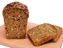 Bread with sunflower seeds Stock Photography