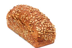 Bread with sunflower seeds Royalty Free Stock Images