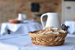 Bread on the Table Royalty Free Stock Photos