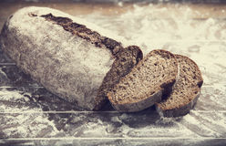 Bread on table Royalty Free Stock Photography