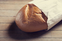 Bread on a table Stock Images