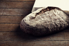 Bread on a table Royalty Free Stock Image
