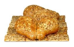 Bread for tea isolate Royalty Free Stock Photos