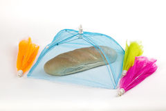 Bread tent mesh Stock Photo