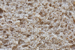 Bread texture. Close shot of a bread loaf Royalty Free Stock Image