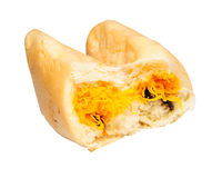 Bread with Thai dessert Royalty Free Stock Photography