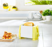 Bread toaster Stock Photo