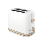 Bread toaster appliance. Isolated on white background Royalty Free Stock Photo