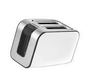 Bread toaster. Isolated on white background Stock Image