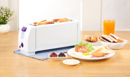 Bread toaster machine Stock Image
