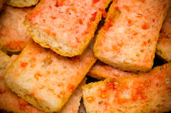 Bread with Tomato Stock Image