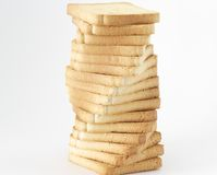 Bread tower Royalty Free Stock Photos