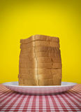 Bread tower Stock Photo