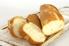 Bread on a tray 1 Stock Image
