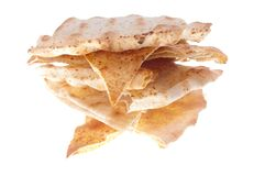 Bread triangles Royalty Free Stock Photos