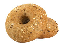 Bread. Two bagels Stock Photo