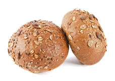 Bread. Two buns Stock Photography