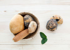 Bread of various types and seeds Royalty Free Stock Photos