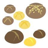 Bread. Vector illustration (EPS 10 Stock Photo
