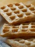 Bread waffle Stock Photo