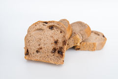 Bread with walnuts and chocolate chips Royalty Free Stock Photography