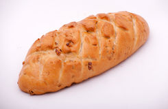 Bread with walnuts Stock Image