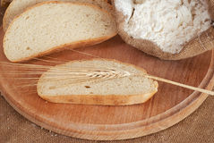 Bread & weat Stock Photo
