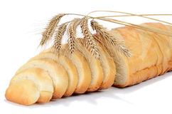 Bread from a wheat Stock Image