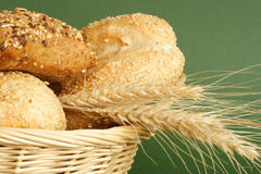Bread and wheat Royalty Free Stock Photography