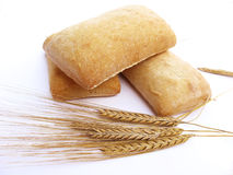 Bread and wheat Royalty Free Stock Image
