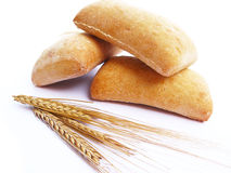 Bread and wheat stock photos