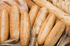 Bread & wheat Stock Image