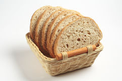 Bread with wheat bran Royalty Free Stock Photos