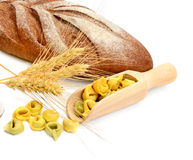Bread and wheat ears Royalty Free Stock Photo