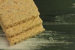 Bread from wheat flour Stock Photo