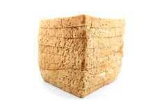 Bread wheat. Pasted on a white background Royalty Free Stock Images