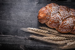 Bread wheat rye ears food and drink concept Royalty Free Stock Photography