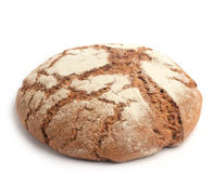 Bread on white Royalty Free Stock Photography