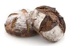 Bread on White Royalty Free Stock Images