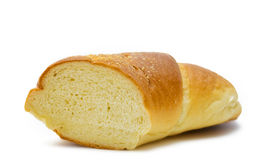 Bread on a white background Stock Image
