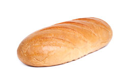 Bread on white background Stock Image