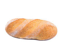 Bread on a white background Royalty Free Stock Photography