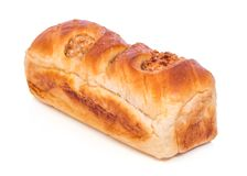 Bread. On white background. The file includes a clipping path, so it& x27;s easy to work Stock Photos