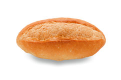 Bread on white with clipping path Stock Photos