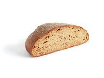 Bread On White Royalty Free Stock Photos