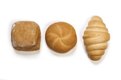 Bread. On white isolated background Royalty Free Stock Image